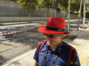 20170912 - Andrew has a RedHat Red Hat