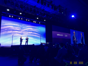20170912 - IBM SVC on Stage with VMware CEO