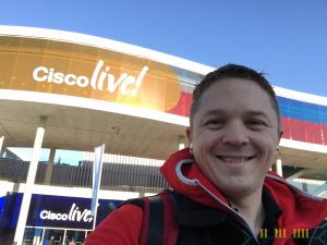 20180129 - Arriving at Cisco Live
