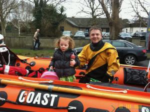 Irish Coast Guard - In the boat with Alana
