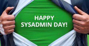 Happy SysAdmin Day